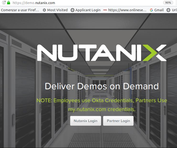 Nutanix Online Demo
