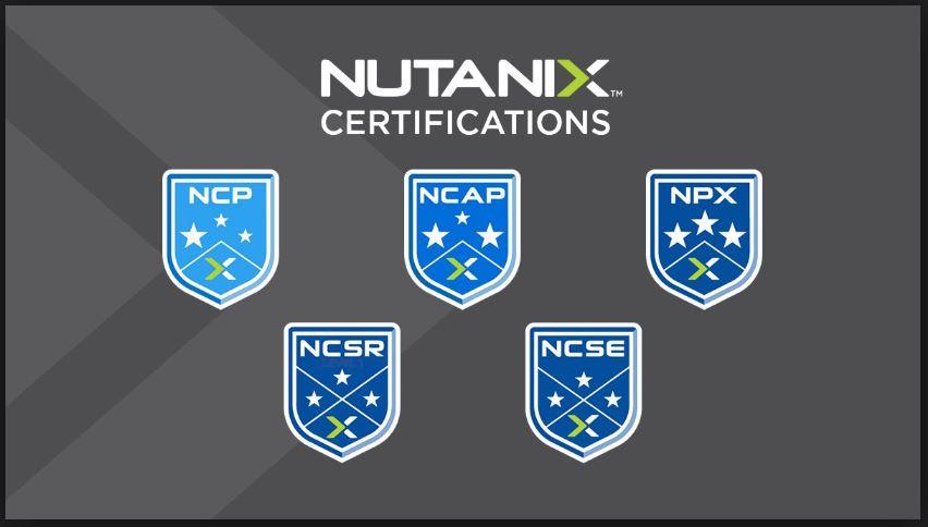 Nutanix Professional Certificates