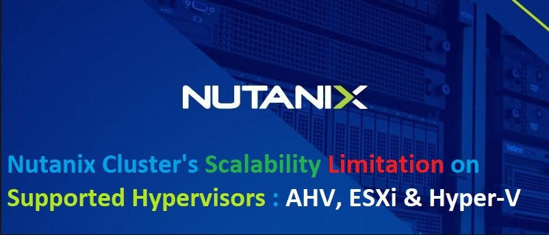 Nutanix-cluster-Limitations-Scalability-and-Maximums