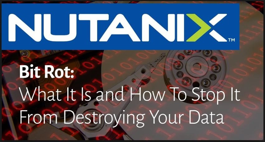Nutanix-Bit-rot Prevention