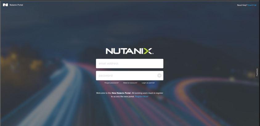 Nutanix Portal