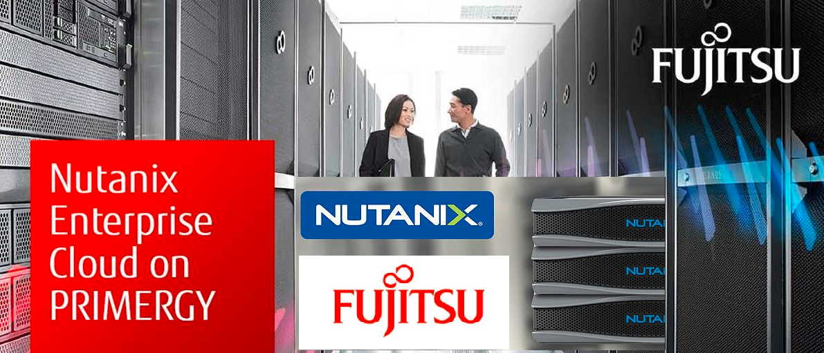 Fujitsu OEM partnership with Nutanix