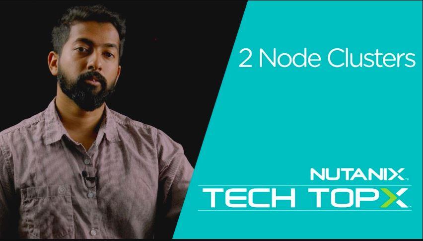 Nutanix Two Nodes Cluster VM Vulnerability