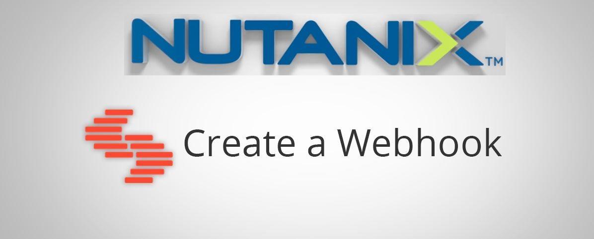 Nutanix Webhook