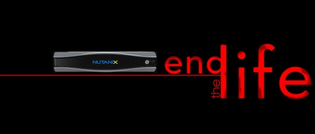 Nutanix End Of Life EOL
